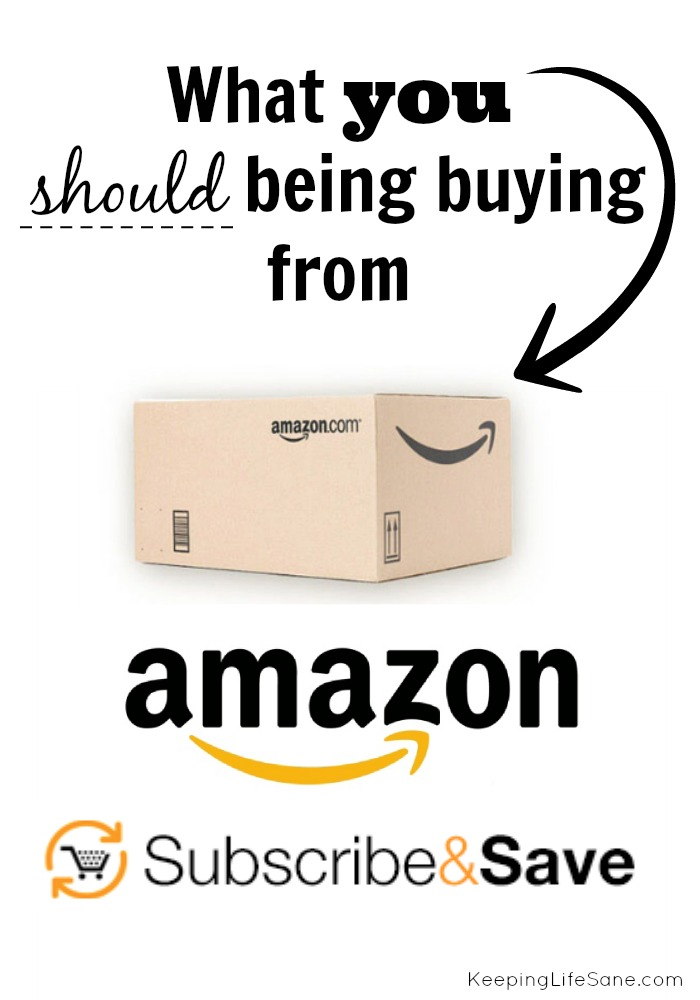 Do yo love amazon as much as I do? Here's you should be buying from Amazon Subscribe & Save to save time and money.