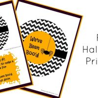 Free You've Been Boo'd Printable