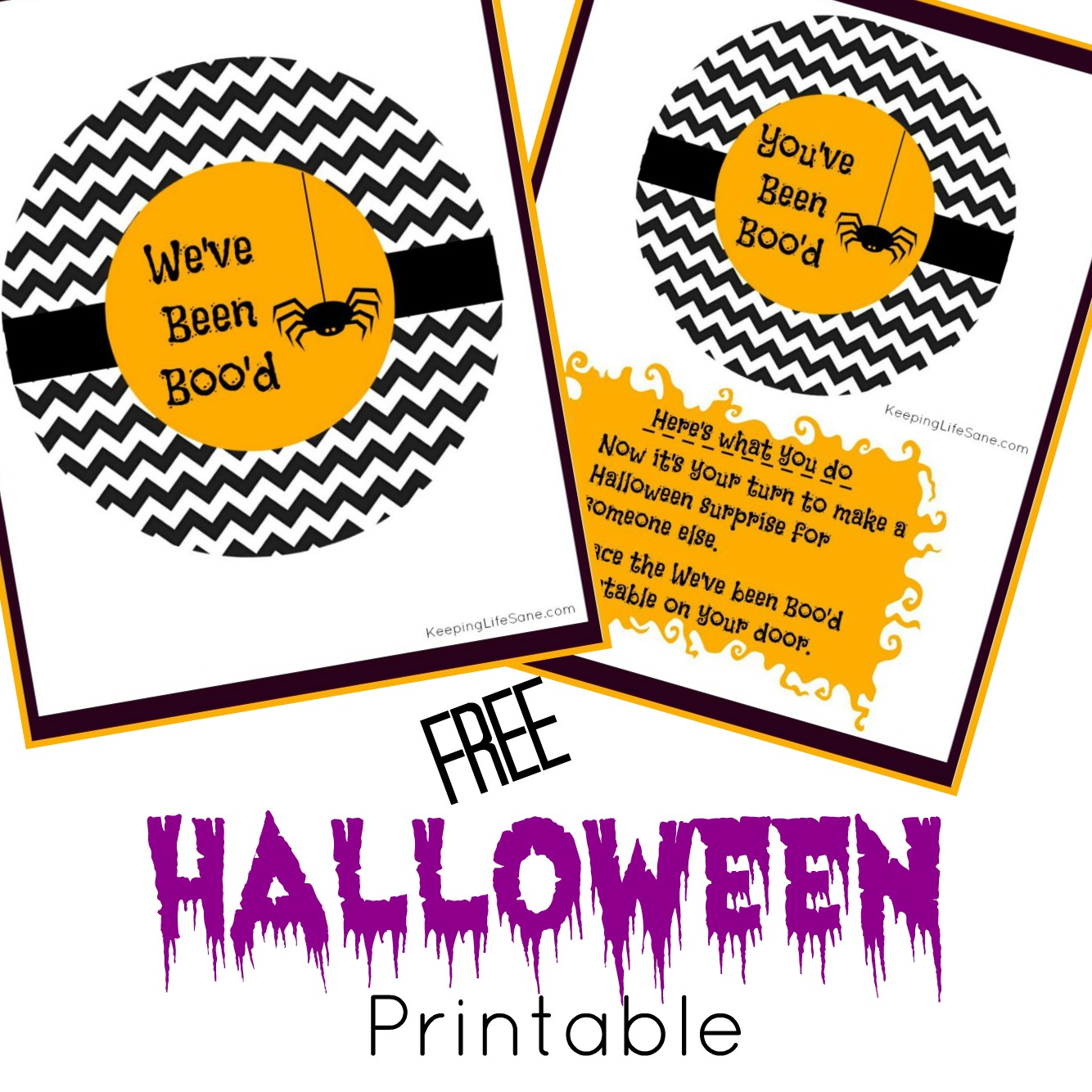 Get your FREE You've Been Boo'd printable here! Start a fun and new family tradition this fall. You're kids are going to love it!