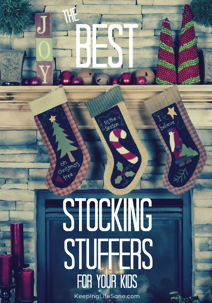 I'm always on the lookout for stocking stuffers. Here are some great ideas for christmas that your kids will LOVE!