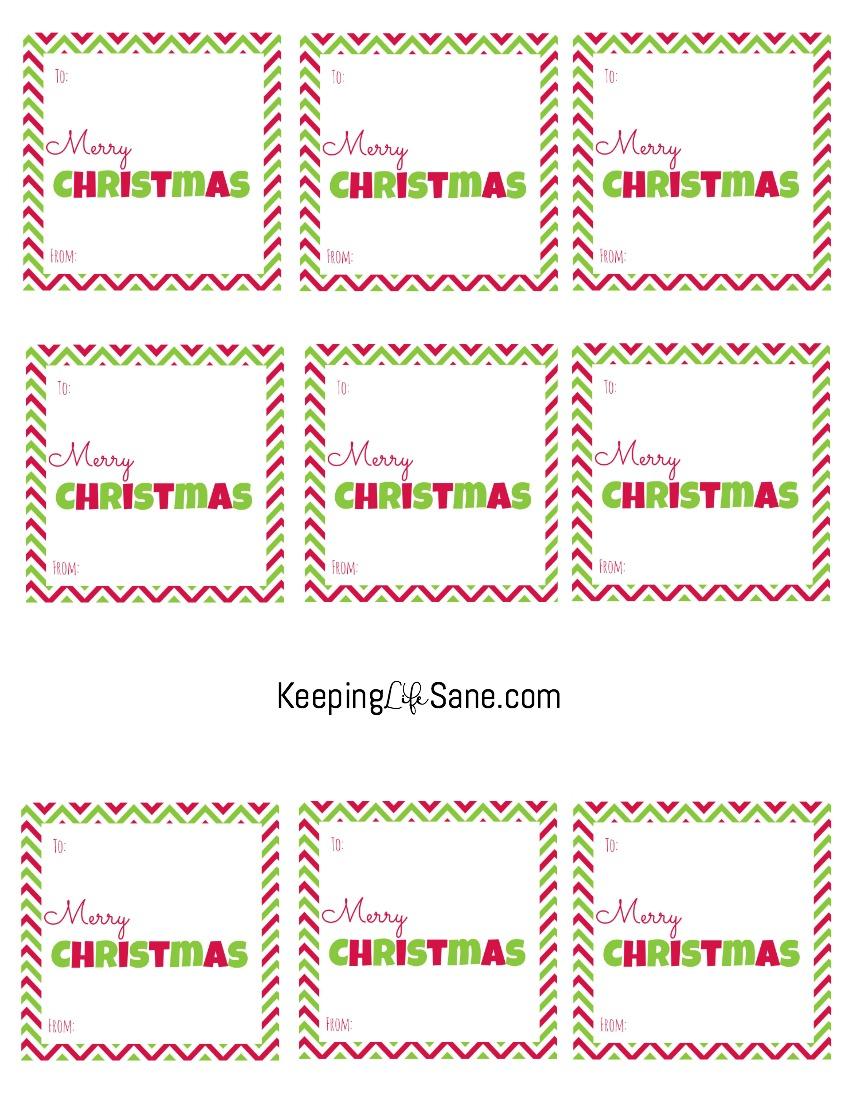 free printable christmas gift tags keeping life sane