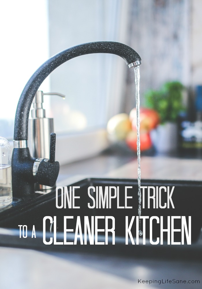 Have a cleaner kitchen