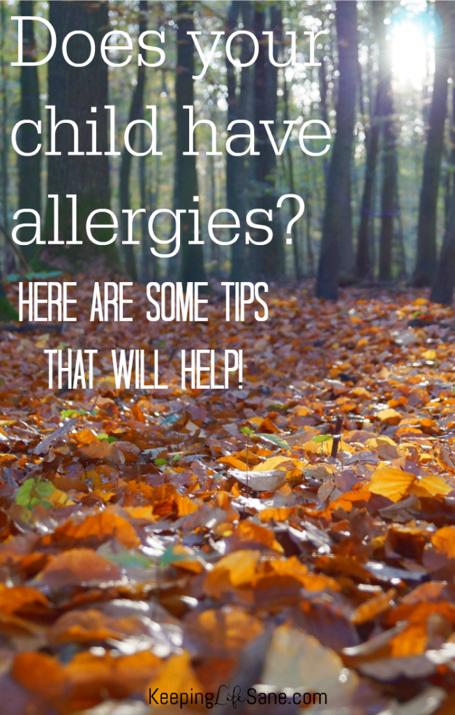 Does your child suffer from allergies? Here are some great tips you can do around the house to help them and reduce their suffering.