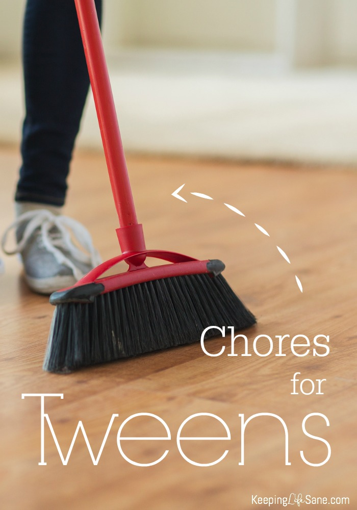 Chores for Tweens