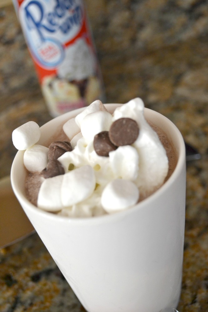 This is the perfect dessert over the holiday and that you and your kids will love. Frozen hot chocolate is a HUGE hit in my house!