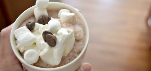 This is the perfect dessert over the holidays that your kids will love. Frozen hot chocolate is a HUGE hit in my house!