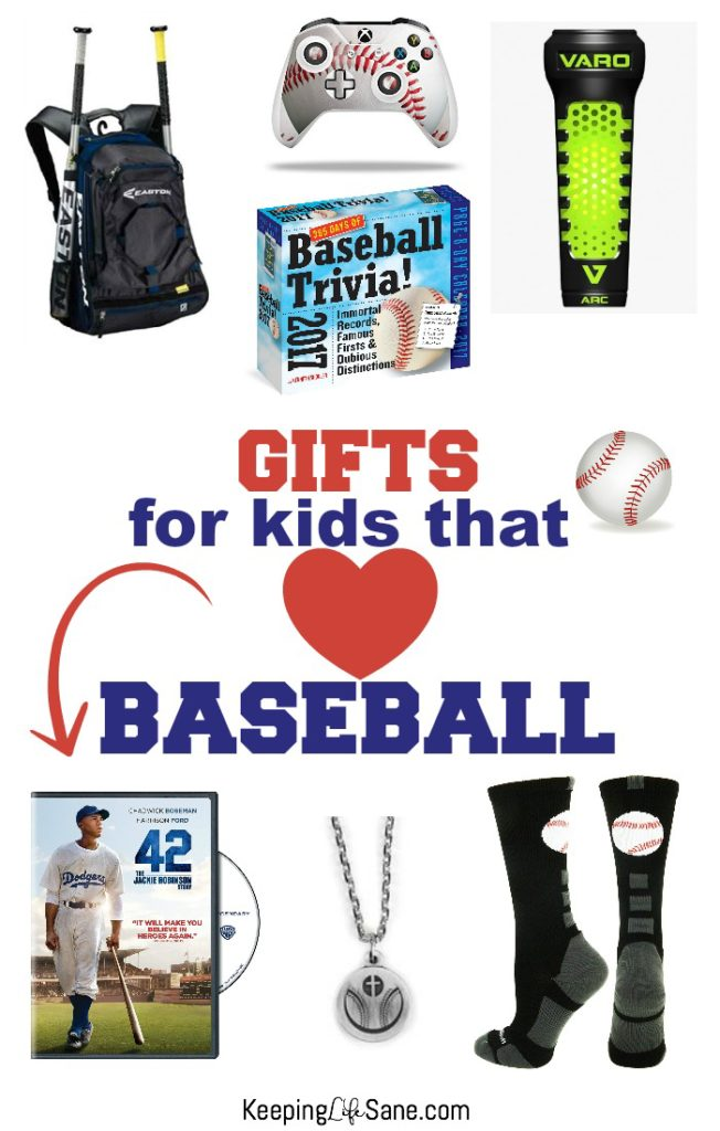 Do you have a child who loves baseball? Here are some great baseball gifts that can be used for Christmas or birthdays. They will love them!