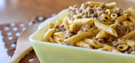 Add this yummy cheesy hamburger mac to your menu this week. I know your kids will love this family favorite and clean their plate.