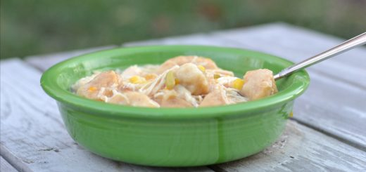This is the easiest crockpot chicken and dumplings that you'll find. It's so delicious on a cold winter night. It will warm you right up.