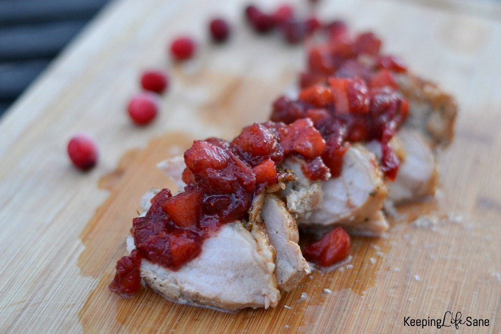 Here's a fantastic everyday cranberry and apple salad to go with a delicious pork dinner. You can't beat this great taste in under 30 minutes.