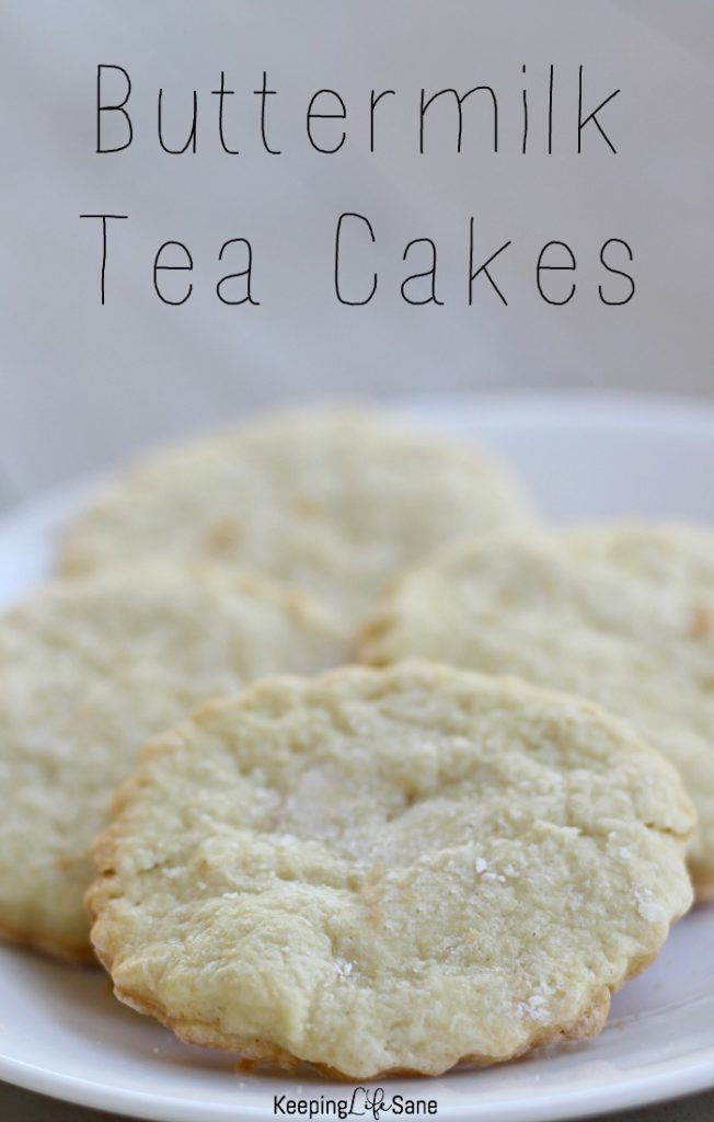 This is the perfect cookie for anytime of year. It's so easy to make and over 200 years old. Try making these buttermilk tea cakes this weekend.