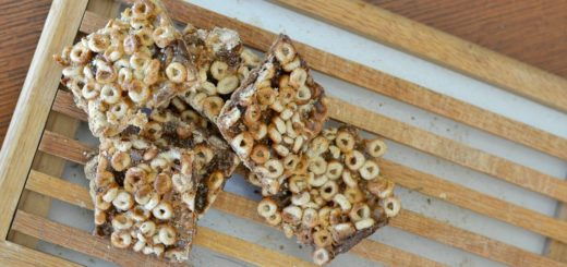 My kids love making these cereal bars. They are so yummy, delicious and EASY to make. There isn't a mess to clean up either!