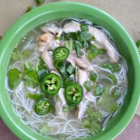 This chicken pho recipe is the best you'll find. It tastes FANTASTIC and is great on a busy night.