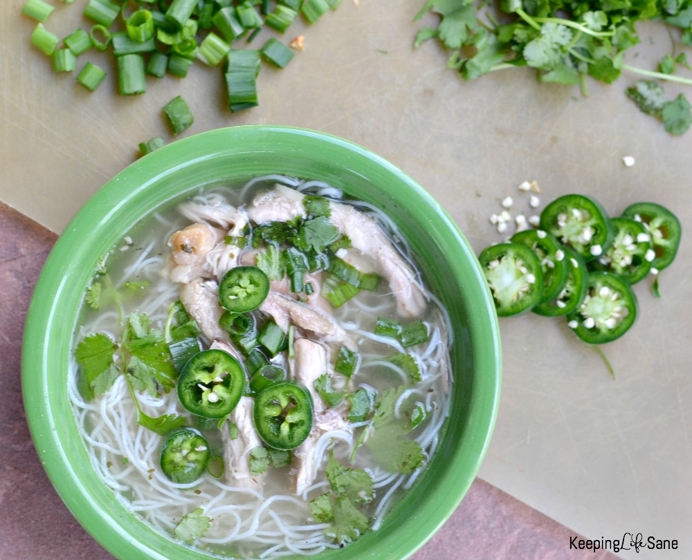 how to make homemade chicken pho