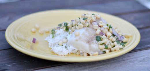 This cilantro corn salsa goes great with Alaska cod for healthy meal. It takes less than 30 minutes, so it's perfect for a busy family.