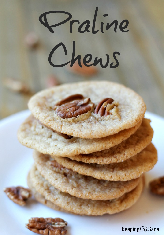 These praline chews are the best. I love the maple flavor with the crunch! YUM! You'll want to add these to your recipe book.