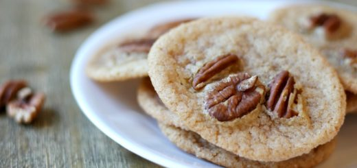 These praline chews are the best eggless cookie around. I love the maple flavor with the crunch! YUM! You'll want to add these to your recipe book.