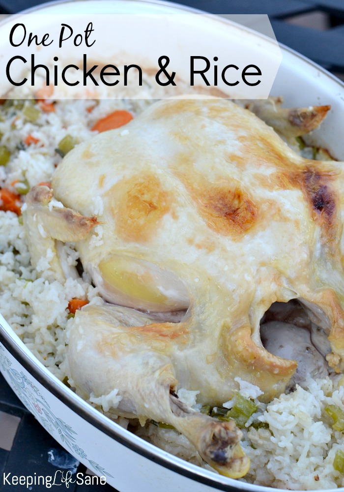 I love one pot meals and this is one of the best! It's so easy and flavorful, perfect for Sunday night dinner.