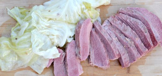 Corned Beef and cabbage isn't just a meal for St. Patrick's Day. We eat this delicious meal about once a month. It's a simple, one pot dish.