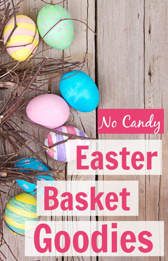 Check out these GREAT Easter basket goodies that don't include candy! I love getting some fresh ideas.