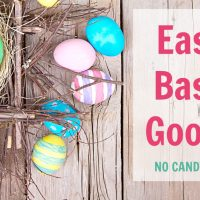 Are you looking for some fresh ideas to fill those Easter baskets? Check these out. I love that there is no candy!