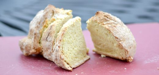 I love making soda bread when we're having corned beef and cabbage. Who doesn't love butter on warm bread fresh out of the oven?