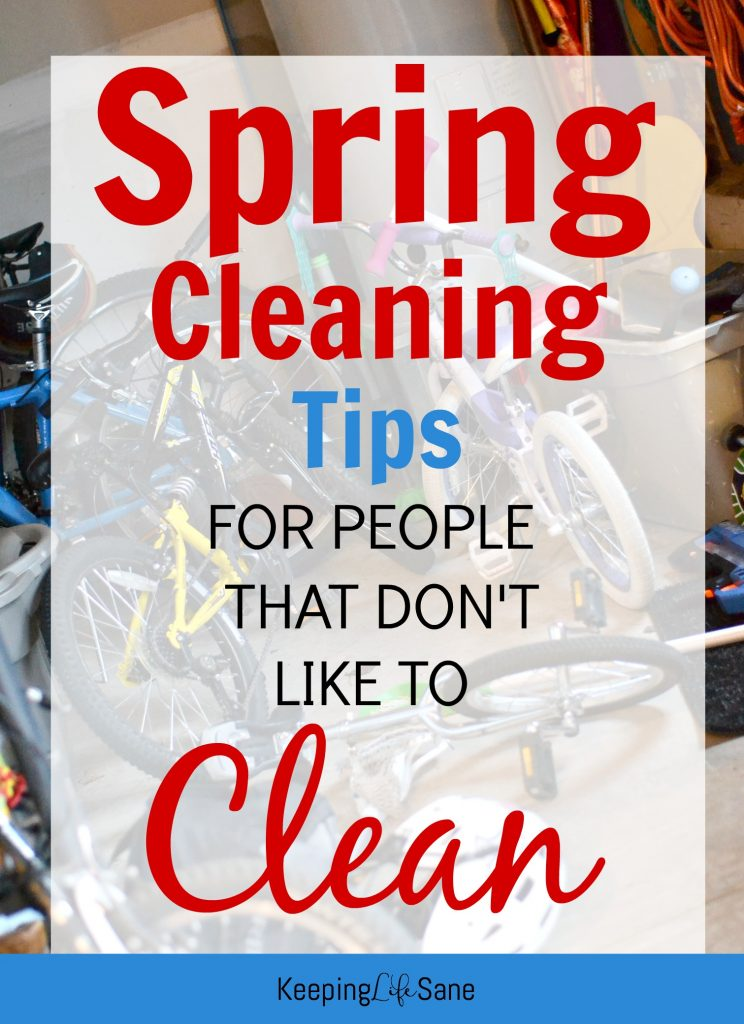 It's that time of year again, spring cleaning! Here are some great tips for people that don't like to clean to get you motivated!