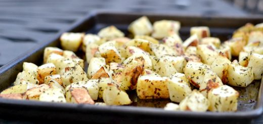 This is the best and tastiest side dish you can make. These oven roasted potatoes are easy and your entire family will love them.