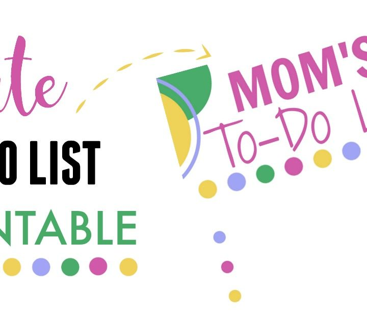 Here's a great way to get organized! Get this FREE to-do printable and start keeping all the things you need to do in one place!