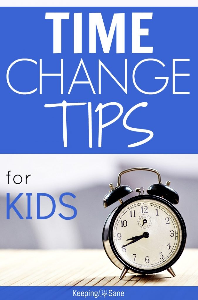 Here are some TIME CHANGE TIPS to make the transition easier on you and your family. You'll want to save this. No one likes a cranky kid!