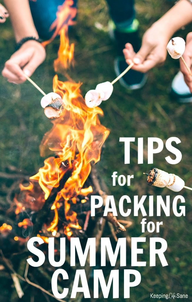 Packing for summer camp doesn't have to be hard. It's actually pretty easy. Here are a few tips to remember so you don't stress out.