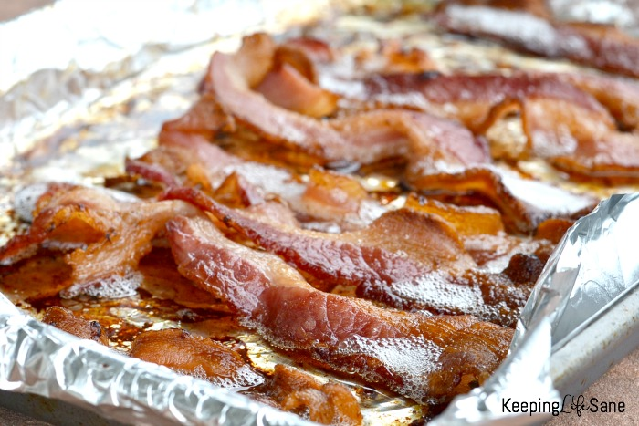 Learn how to cook bacon in the oven. It will save time and you'll wonder why you never tried it before. It's really easy!