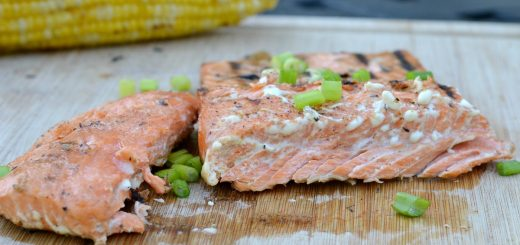 Salmon is such a quick and healthy meal. This grilled chili honey orange salmon is tasty on the grill on a hot summer night.
