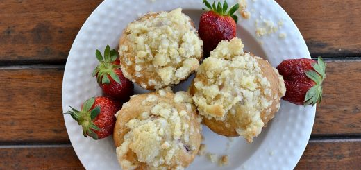 These strawberry streusel muffins are to die for! It doesn't take long for these to disappear. As soon as they come out of the oven, they're gone!