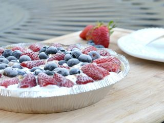 Are you looking for a fun and easy summer dessert? You are going to love this chocolate berry ice cream pie. There won't be any leftovers.