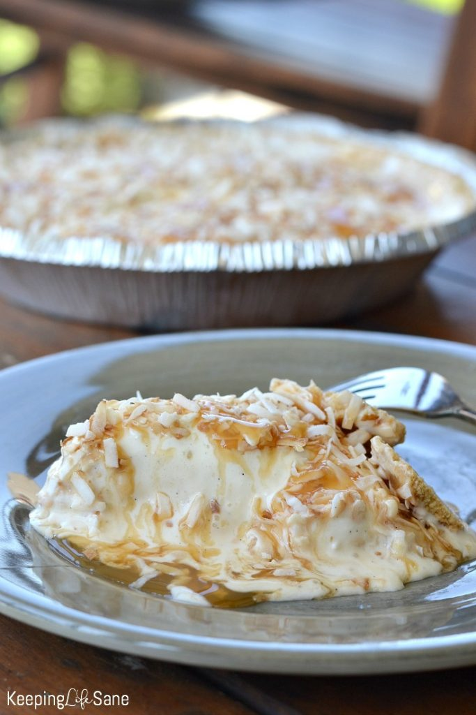 Are you looking for a fun summer dessert? This coconut freezer pie is what you're looking for. It's perfect on a hot summer day.