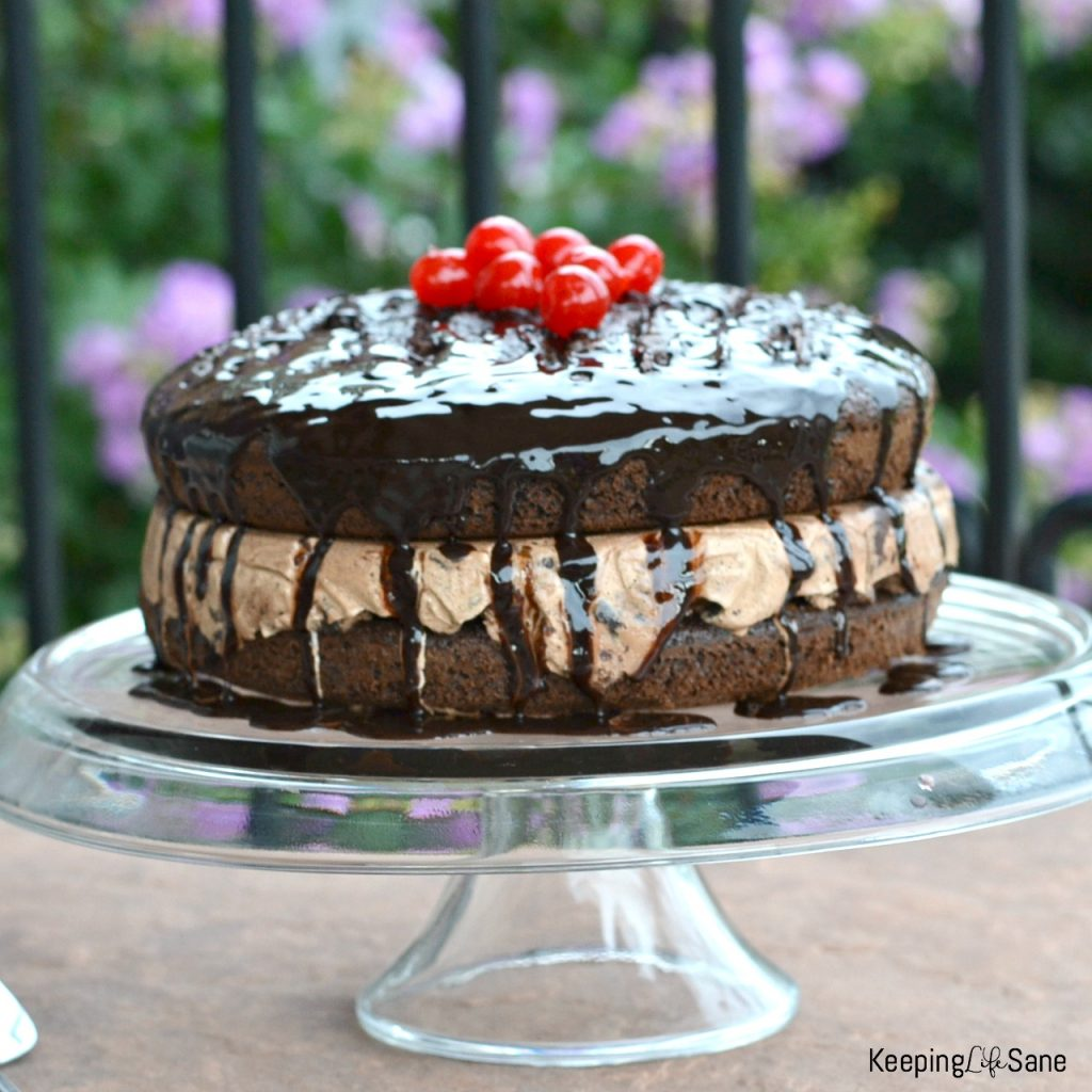 This chocolate lover's ICE CREAM CAKE is the best dessert during the summer. You have to check see how easy it is. So simple!