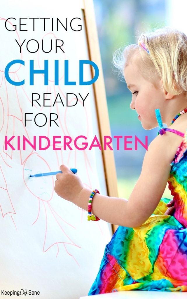 Is Your Child Ready For Kindergarten >> Tips For Getting Your Child Ready For Kindergarten Keeping Life Sane