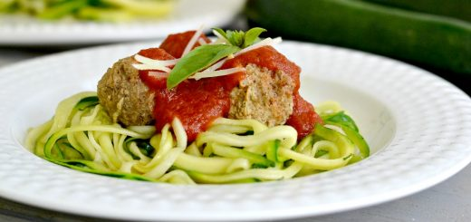 You'll want to save this recipe for quick turkey meatballs over zucchini noodles. It's a fun way to try eating your veggies.