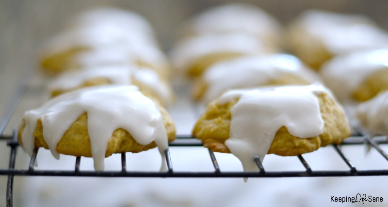 It's the time of year for iced pumpkin cookies! These are so yummy and perfect for fall. Icing is not optional! It makes these cookies perfect.