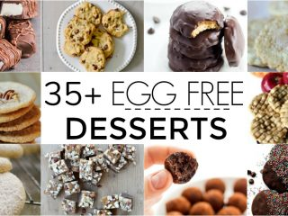 If you are looking for egg free desserts, then you are at the right place. Here are over 35 great egg free desserts for you to try out.