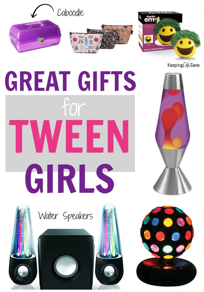 Finding gifts for tween girls can be challenging. Here's a great list to make your shopping easier. Your girls are sure to love them.