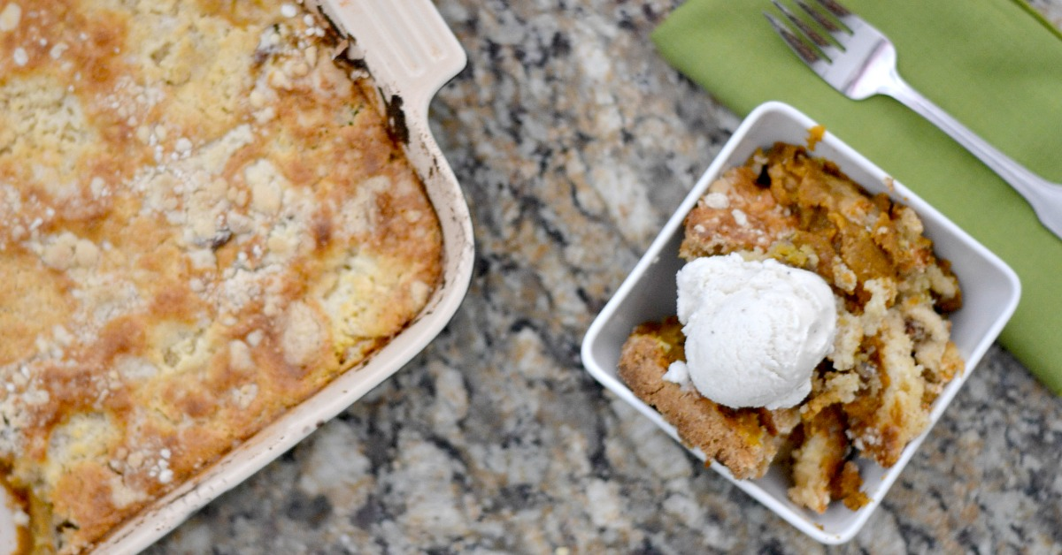 Pecan Cobbler Dump Cake With Cake Mix