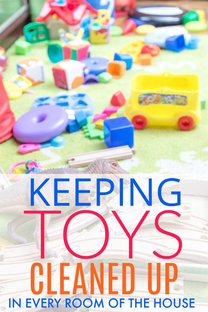 One of the biggest challenges of a parent is keeping toys cleaned up! Get these great ideas to keep your house clean and sane.
