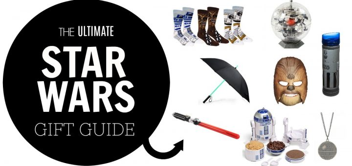Almost everyone knows a Star Wars fan. Check out this ultimate Star Wars gift guide for the mega fan in your life!
