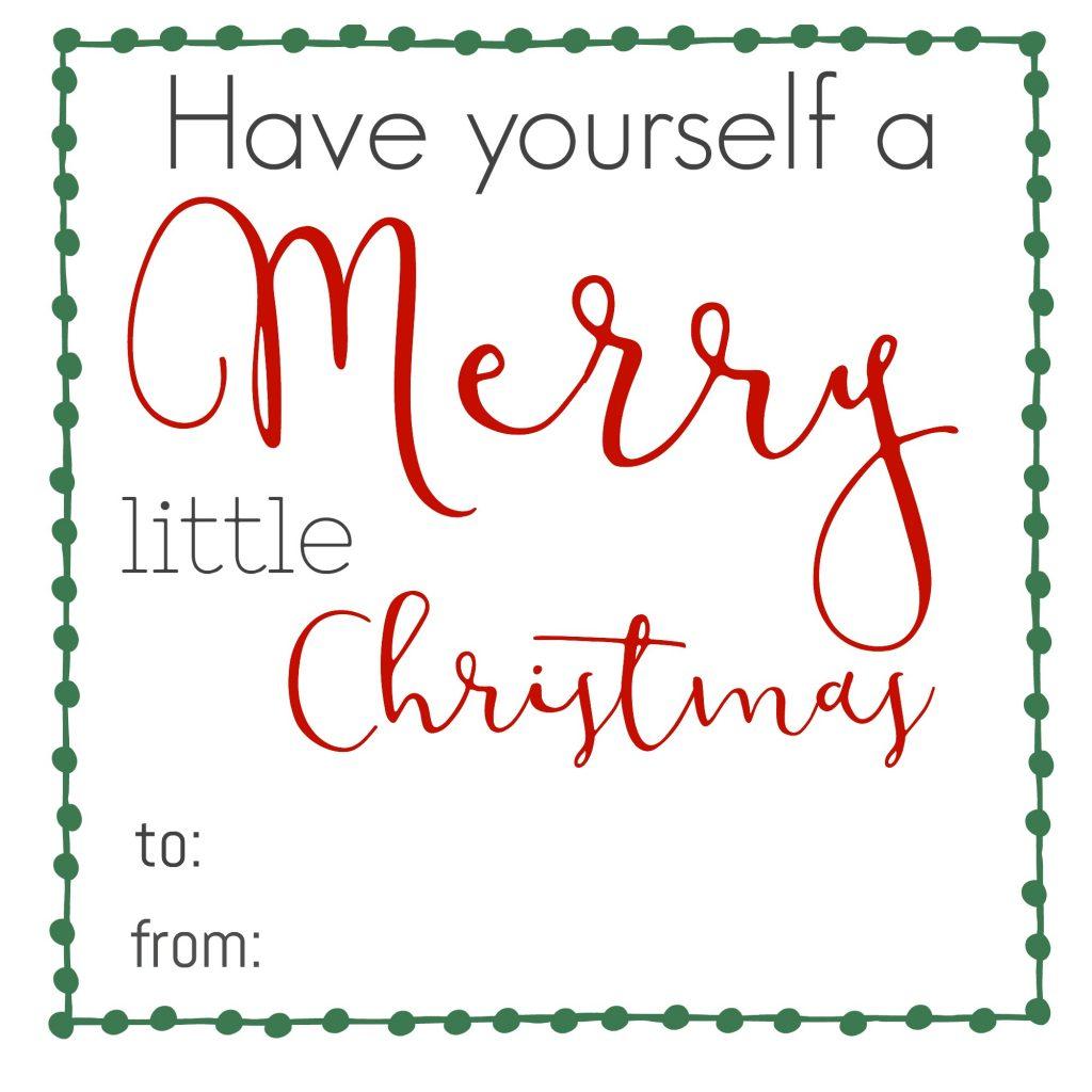 Fun Printable Christmas Gift Tags - Keeping Life Sane