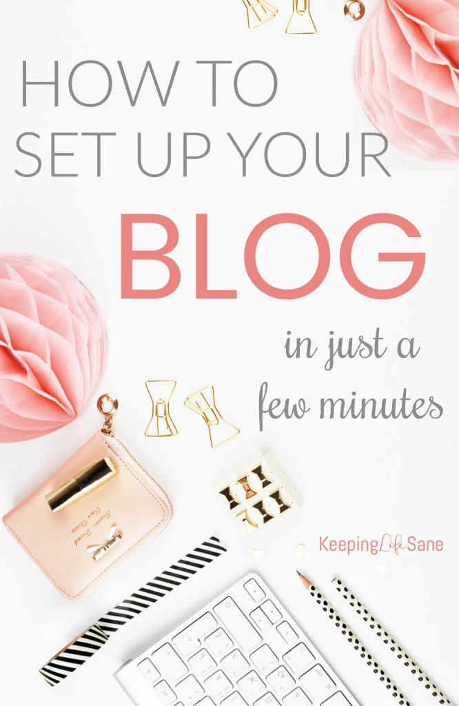 "You may be wondering, ""How do I set up a blog?"". Here's a simple guide to walk you through setting up your blog and start making some money."