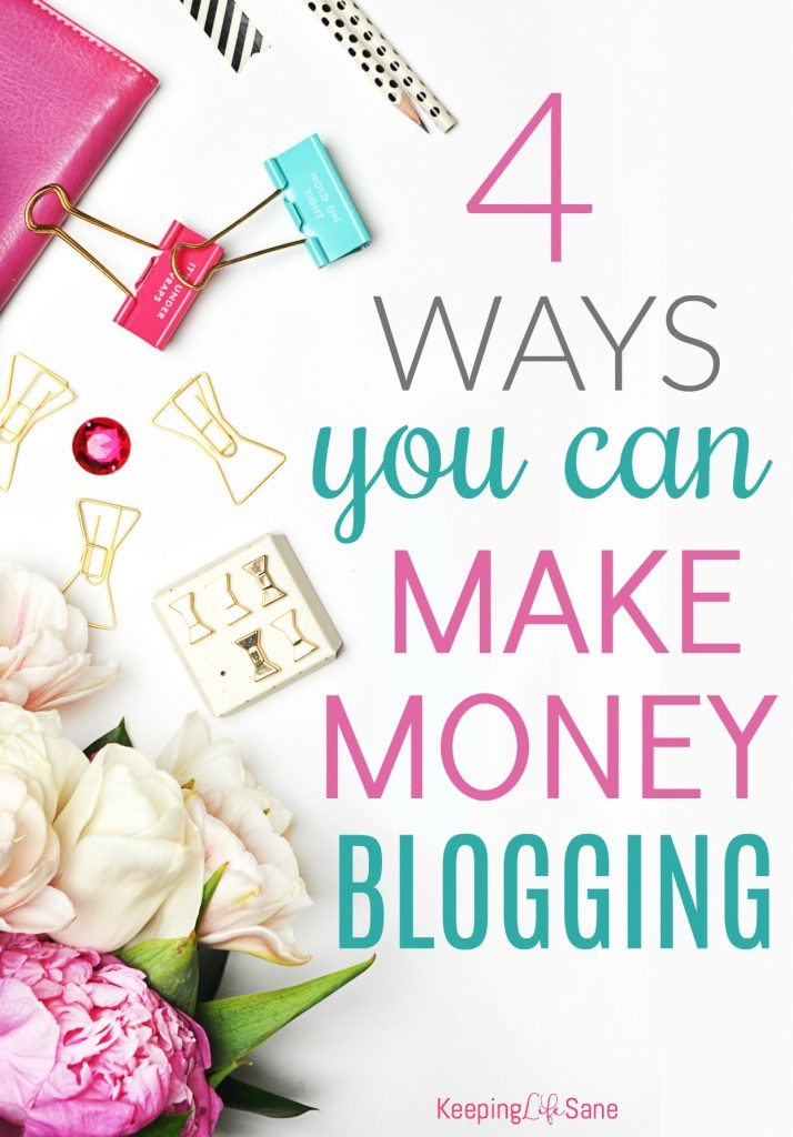 Did you wonder how all those bloggers are making money? Here are four easy strategies that bloggers implement to make money.