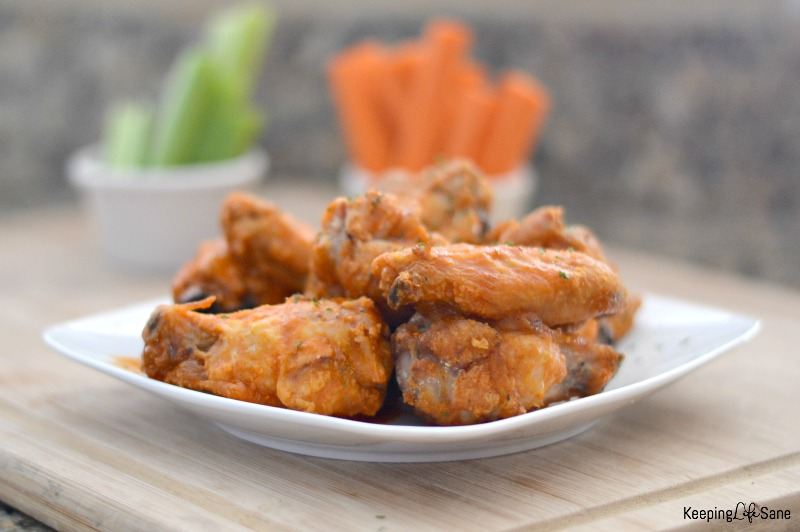 These crispy baked buffalo wings are to die for! They are so easy to cook and taste fantastic. You'll want to save this recipe!