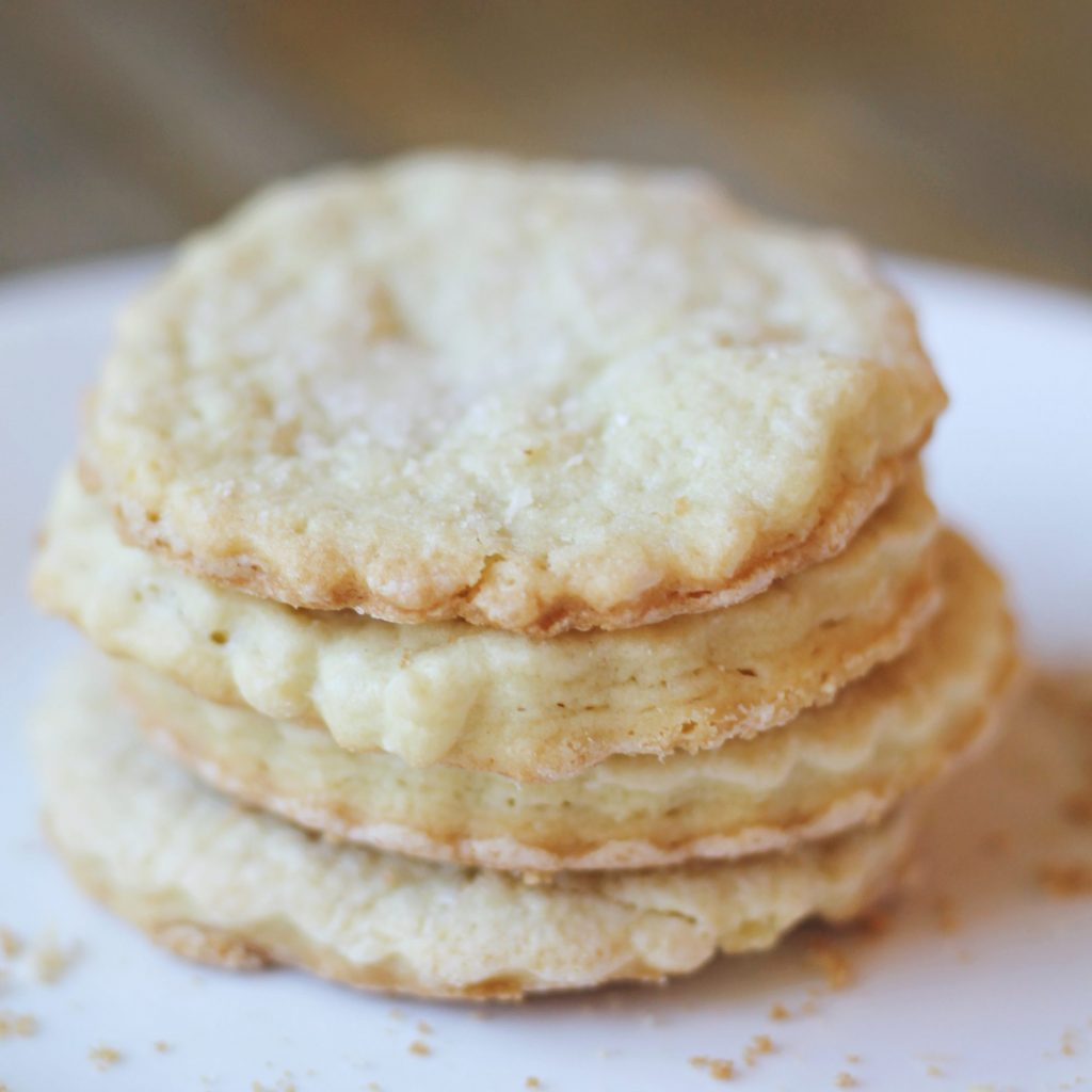 This is the perfect cookie for anytime of year. It's so easy to make and over 200 years olds. Try making these buttermilk tea cakes this weekend.